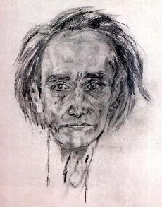 Artaud autoportrait