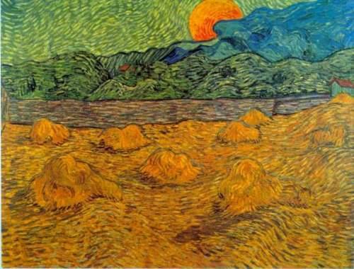 t_Van Gogh - Rising Moon