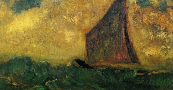 Redon, The Mysterious Boat