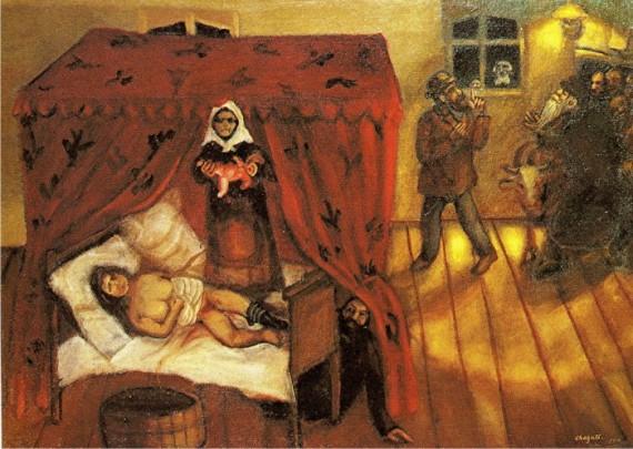 chagall naissance