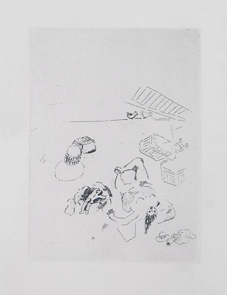 chagall naissance,
