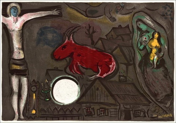chagall nativité