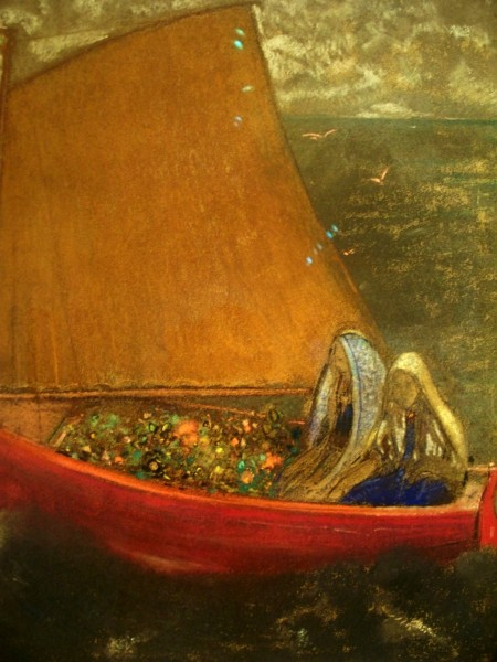 redon the-yellow-sail