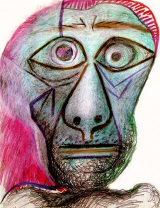 Picasso-s-last-self-portrait-1972