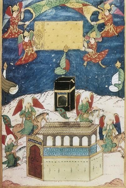 kaaba-sufti-abdullah-16th-century-angels-everett