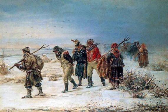 00-illarion-pryanishnikov-the-french-retreat-in-1812-1874