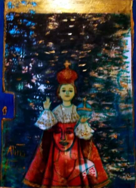 reflets au jardin du monastere,