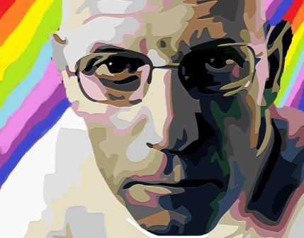 Michel Foucault ✆ Ivan Korsario en La Página de Omar Montilla