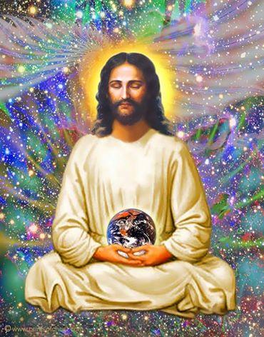 jesus lotus cosmique