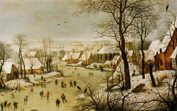 hiver Pieter_Bruegel_d._Ä._107