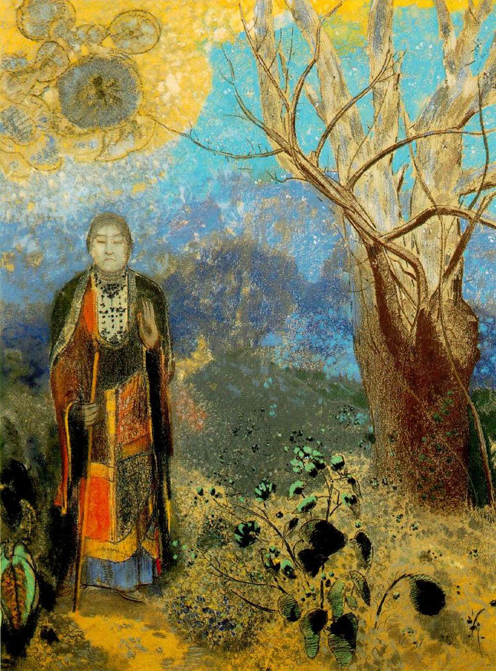 Odilon-Redon-Buddha