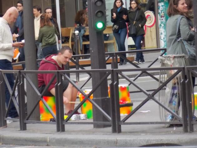 paris musique de rue
