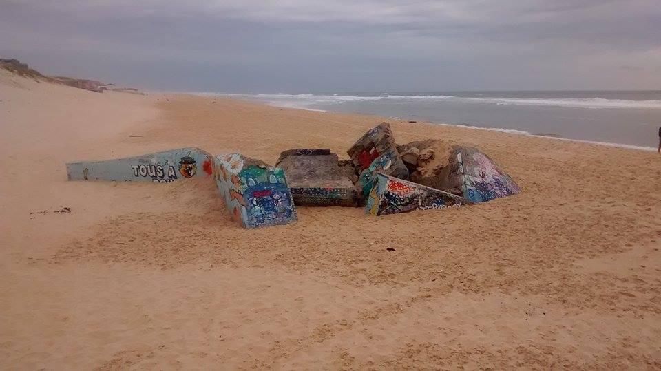 bunker graffé 2
