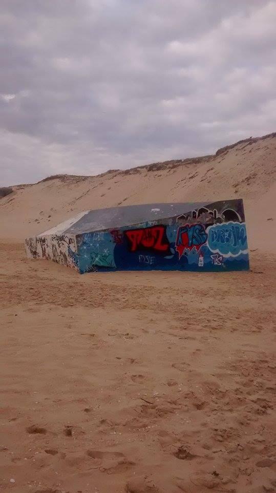 bunker graffé