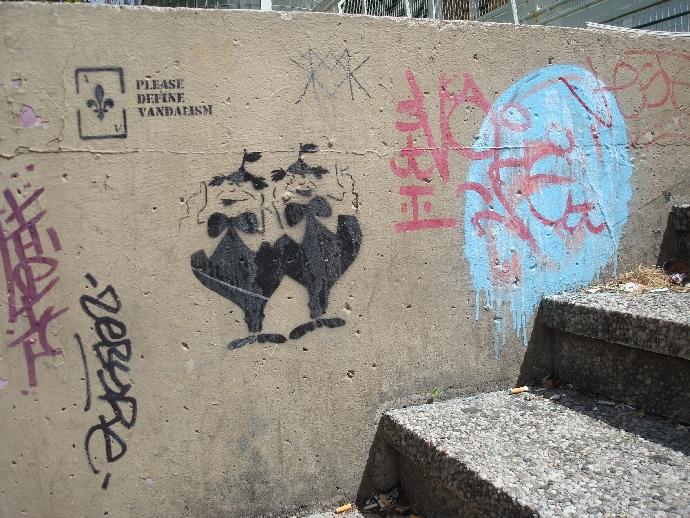 graff vandalism