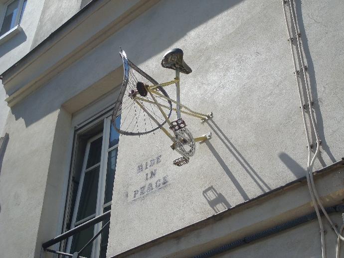mur vélo