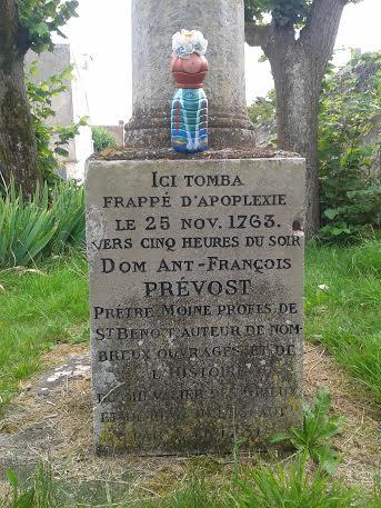 où est mort l'abbe prevost