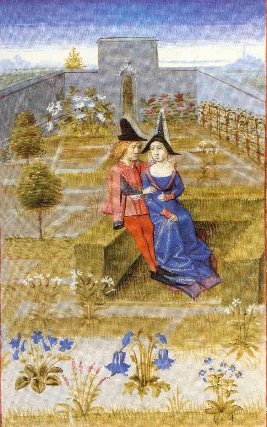 Rustican-Banquette-verte-et-jardin-dagrément-Pierre-de-Crescent-1470-BNF