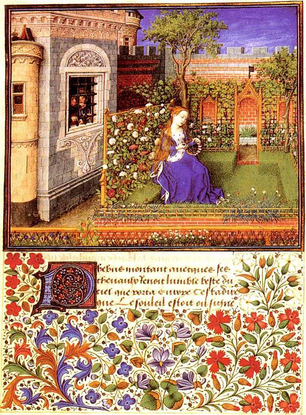 barthelemy d'eyck emilie ds le jardin