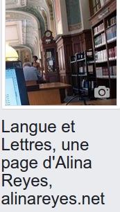 """""""Langue et Lettres"""", ma page facebook"""
