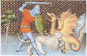 """Chrétien de Troyes, """"Yvain le chevalier au lion"""" (commentaire)"""