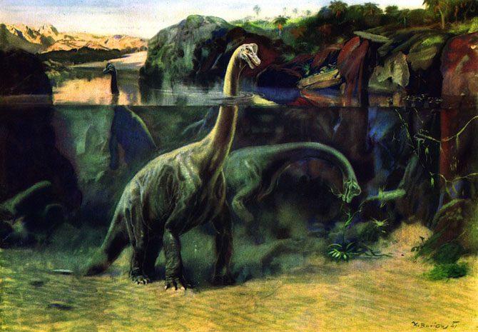 dinosaurs-brachiosaurus-zdenek-burian