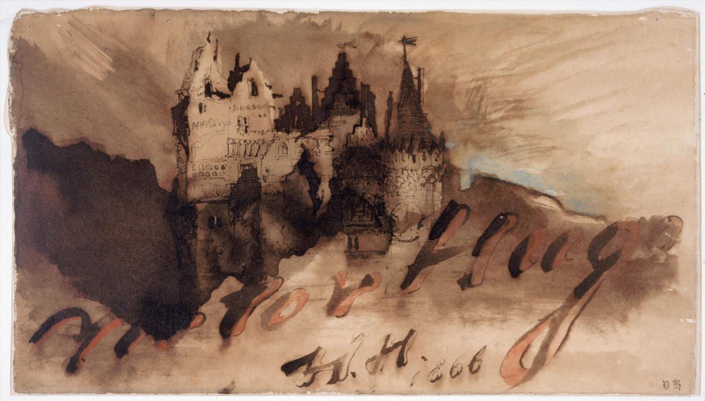 hugo-chateau-fort-au-crepuscule