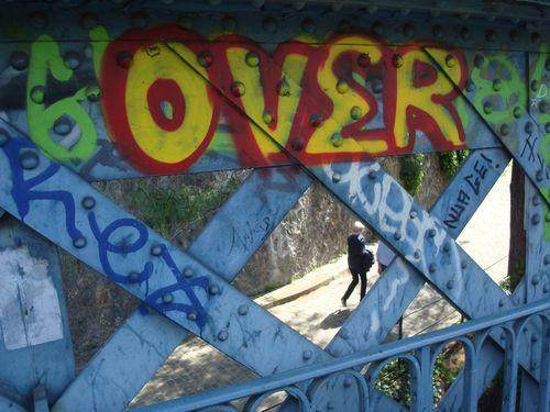 cimetiere de montmatre vu du pont