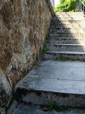 escalier cimetiere montmartre