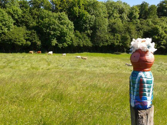 mme terre et les vaches