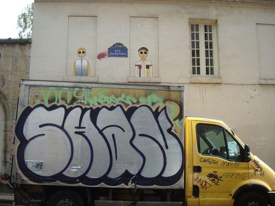 street art 5e et camion