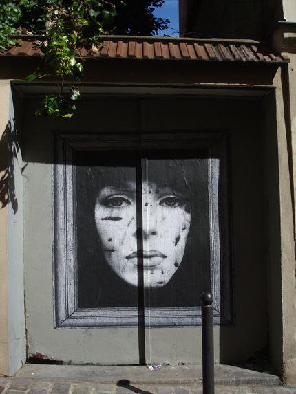 street art fenêtre