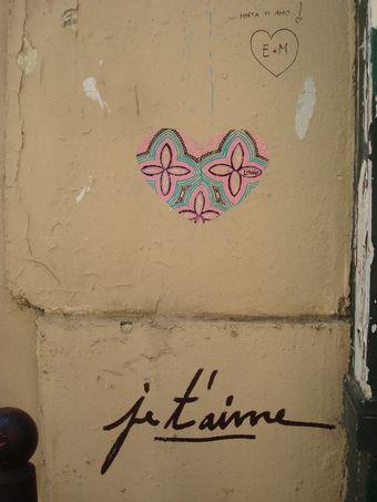 street art je t'aime