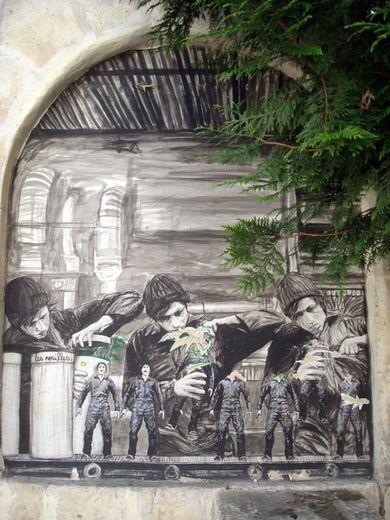 street art levallet