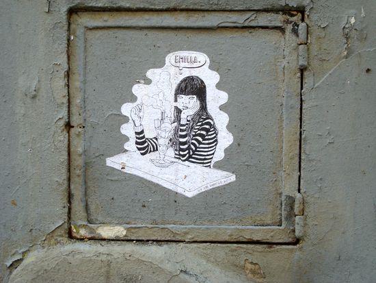 street art mur 18e