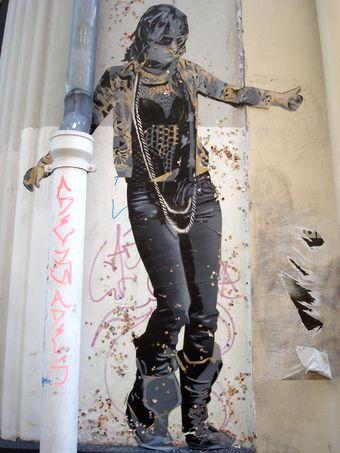 street art personne
