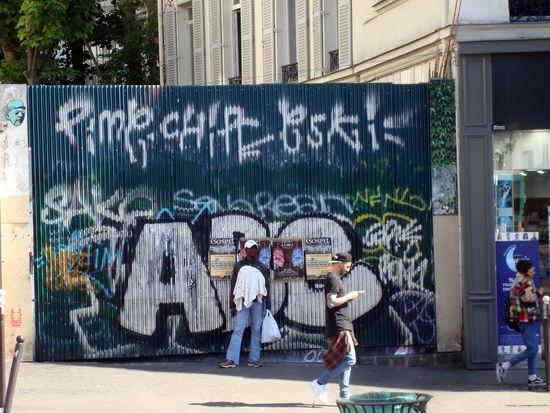 street art pigalle