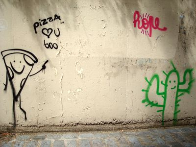 street art pizza hope