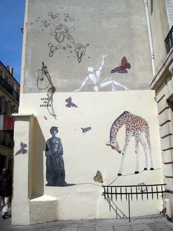street art ride in peace
