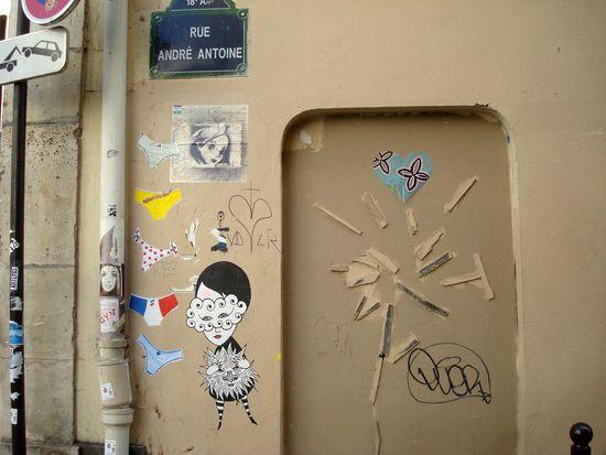 street art rue andré antoine