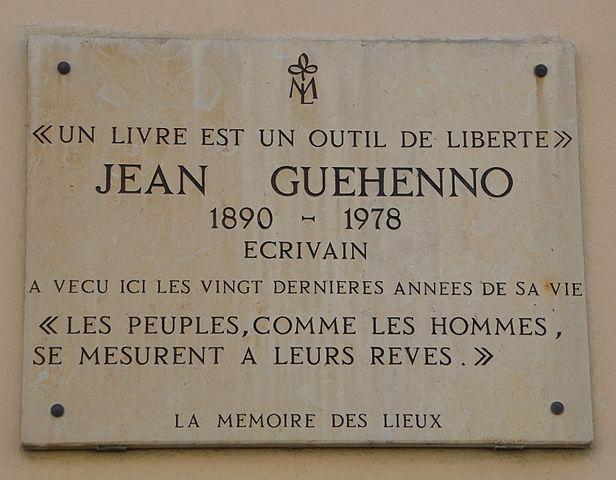 616px-Jean_Guehenno_plaque_-_35-37_rue_Pierre_Nicole,_Paris_5
