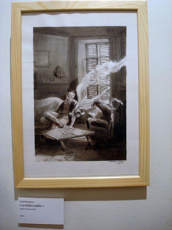 "Cazals Magaux, ""La lettre volée"""