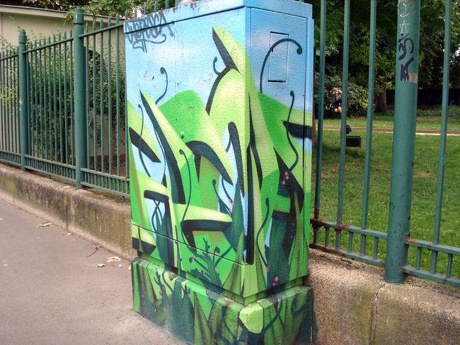 rue 11 vert bleu