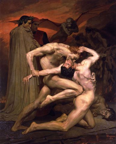 "William Bouguereau, ""Dante et Virgile"""