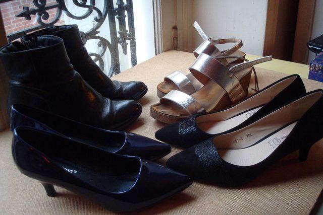 Chaussures que je porte et vais porter à la rentrée