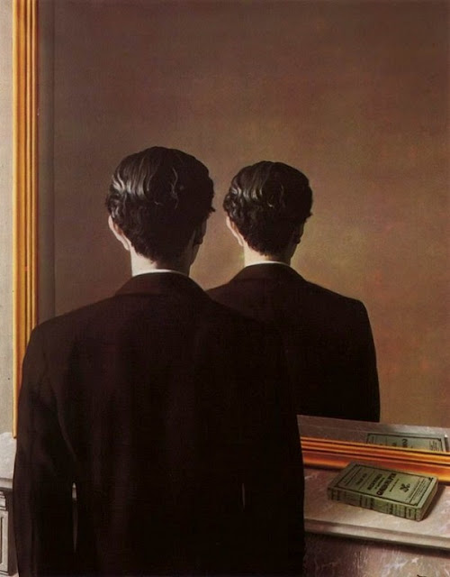 "René Magritte, ""La Reproduction interdite"""
