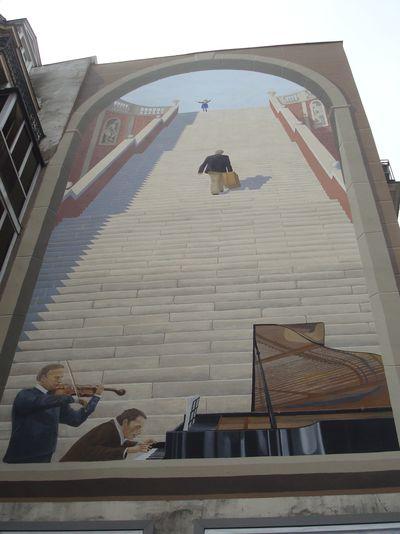 une fresque de Rieti, 1989, restaurée