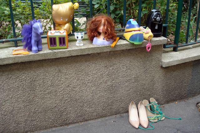 objets à la rue
