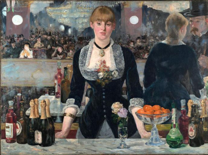 """Édouard Manet, """"Un bar aux Folies Bergère"""""""