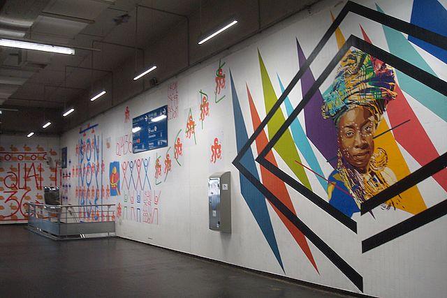 street art gare du nord 13